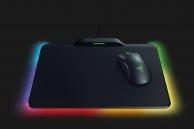 Mouse Razer Mamba Hyperflux Wireless + Mousepad Razer Fireflies Hyperflux